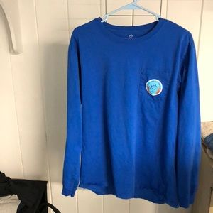 Southern Tide Shirts - Men's Southern Tide Long Sleeve Shirt - Large